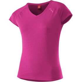 Löffler Transtex Single t-shirt Dames roze